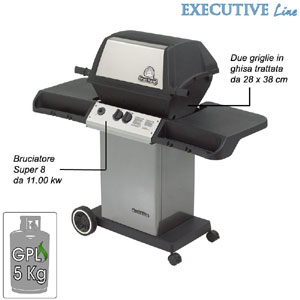 Barbecue Monarch 20 bruciatori super 8 da 11 Kw Broil King