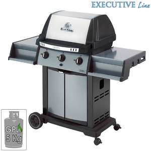Barbecue Broil King Crown 320 Tre bruciatori Dual-Tube da 11.4 Kw