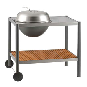 Barbecue Dancook 1502 Diametro braciere 58 cm alluminio interno in acciaio inox