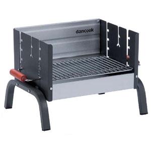Barbecue a Carbone Dancook 8100 Dimensioni L42xP32 con griglia in acciaio cromato 6 mm
