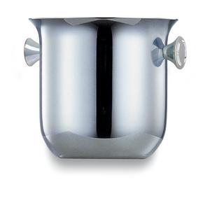 Secchiello Ghiaccio Medio Ø15,5xh15 cm ALEX in acciaio inox 18.10 Lucido manicatura inox Brunita