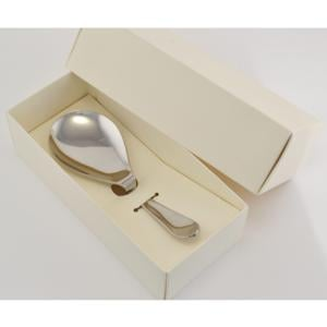 Cucchiaione da risotto MAGIC In Acciaio 18/10 182 mm in Confezione Bomboniera