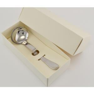 Mestolo Salsa Magic 190 mm In Acciaio 18.10 Ideale per salse e macedonie. Ottimo come cucchiaio per confetti