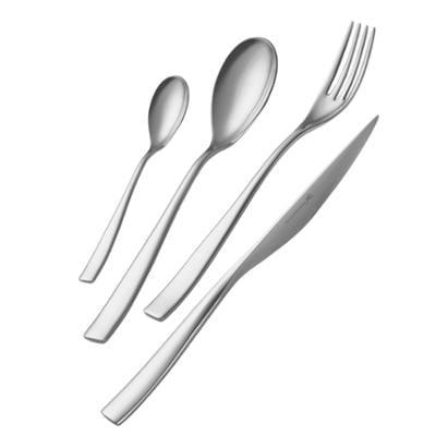 Servizio Posate ETOILE 51 pezzi acciaio inox 18.10 lucidato a specchio spessore 4 mm in astuccio regalo EME