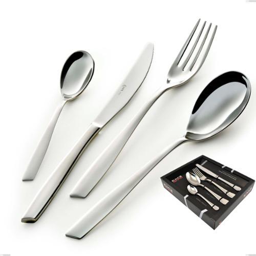 Servizio Posate ELEVEN 24 pezzi acciaio inox 18.10 AISI304 2.5 mm in Confezione Vetrina