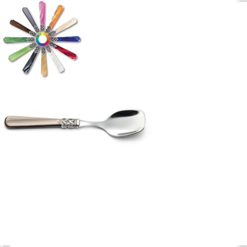 Cucchiaio gelato Ginevra, (acciaio 18.10 aisi304), manico in nylon, Lunghezza 147 mm
