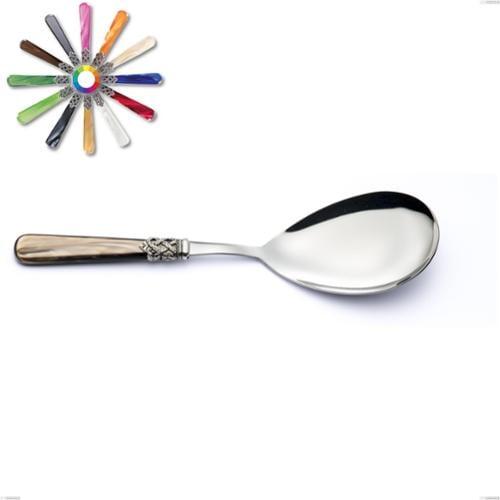 Pala riso Ginevra, (acciaio 18.10 aisi304), manico in nylon, Lunghezza 268 mm