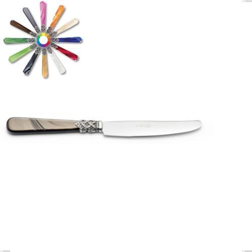 Coltello tavola Ginevra, (acciaio 18.10 aisi304), manico in nylon, Lunghezza 226 mm