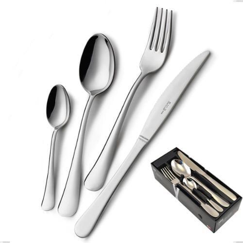 Confezione salvaspazio 24 pezzi coltello economico Oxford, Acciaio inox 18/C (AISI430), spessore 2.00 mm
