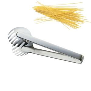 Pinza per Spaghetti in acciaio 18/10 Touch Me 235 mm peso Gr. 127