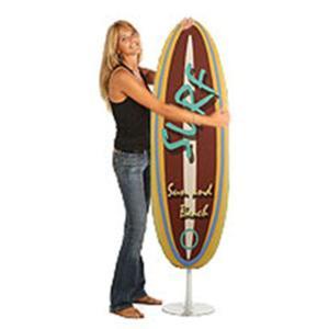 Asse da stiro richiudibile SURF con telaio in tubo di acciaio ad altissimo spessore Giallo