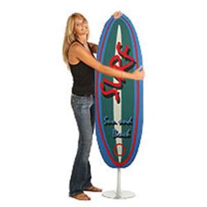 Asse da stiro richiudibile SURF con telaio in tubo di acciaio ad altissimo spessore Azzurro