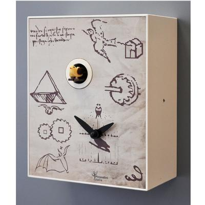 Orologio da Parete Cucù, Leo 28x12xh33 cm design Ezio Pescatori