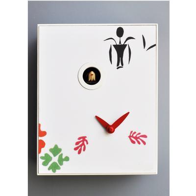 Orologio da Parete, D'Apres MATISSE 28x12xh33 cm cassa in MDF laccato colore nero
