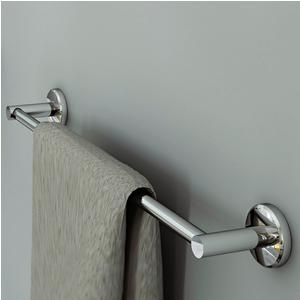 Porta Salviette CM.45 Linea Atlanta 50x7xh5 cm finitura inox lucido stile modern