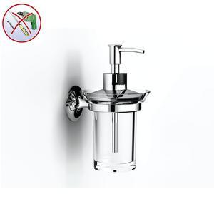 Porta Dispenser sospeso CALYPSO 12x10xh17 cm INCOLLO SENZA VITI corredati con kit biadesivo e collante 3M