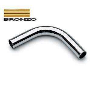 Braccio Curvo 90° APPLICABILE alla Barra da cucina portautensili rotonda in Bronzo