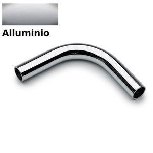 Braccio Curvo 90° APPLICABILE alla Barra da cucina portautensili rotonda in acciaio cromo Satinato