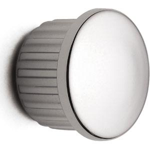 Tappino Finale tubo 6 pezzi per Barra da cucina portautensili rotonda in acciaio cromo