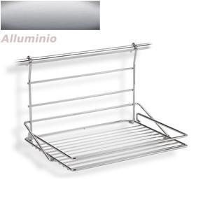 Mensola design geometric two media in metallo verniciato - Barra portautensili cucina ...