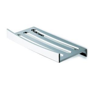 Porta Spugna in acciaio inox 5.5X12.5X25 CM CM Completo di stop per il montaggio