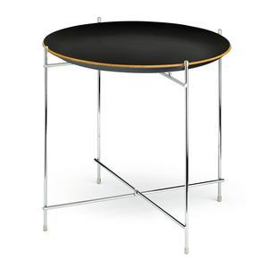 Tavolinetto Pliant 49xh49 cm Rettangolare richiudibile colore nero