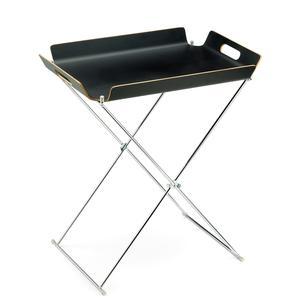 Tavolinetto Pliant 55x40xh57 cm Rettangolare richiudibile colore nero