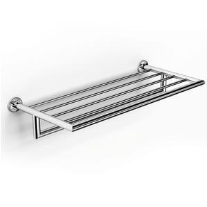 Ripiano Porta salviette in acciaio Lucido PLAZA 65,50x26,5xh14,50 cm