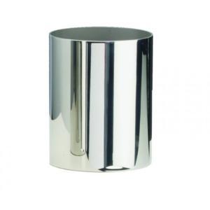 Porta Bicchiere DA APPOGGIO STIL 10X8X8 cm in Acciaio Lucido 18/10