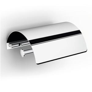 Portarotolo da bagno con coperchio XONY 14,5x113xh6 cm finitura inox lucido