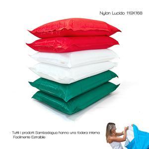 Cuscino SAMBADA 119x168 in Nylon lucido con ripieno
