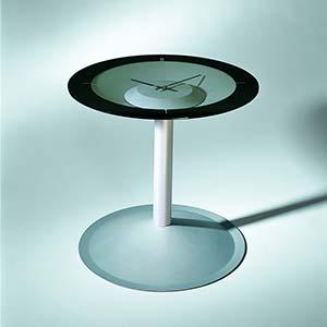 Tavolino con orologio Attesa
