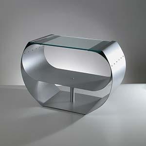 Tavolino Ring inox