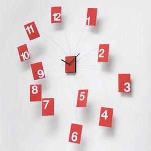 Orologio Il TempoVola rosso