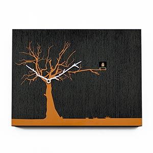 Orologio cucù CùCùRùKù arancio