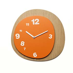 Orologio da parete Woodie