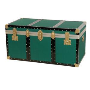 Baule contenitore portabiancheria 100x53xh50 cm - 245 Lt in Legno pressato verde