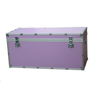 Baule contenitore portabiancheria in legno pressato 110x55xh55cm - 303 lt Colore Viola