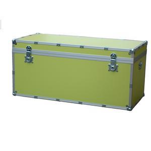 Baule contenitore portabiancheria in legno pressato 110x55xh55cm - 303 lt Colore Verde
