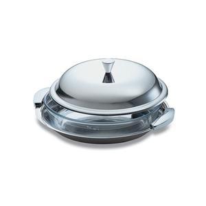 Risottiera EMY EME Rotonda con Pirofila In Pirex diametro 30 cm