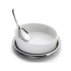Portapirofila tonda con Cucchiaione e pirofila da forno diametro 24 cm