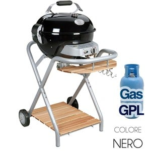 Ambri Black Barbecue a Gas GPL