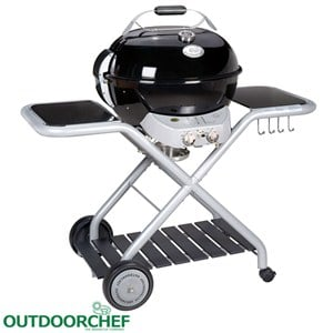 Montreux Black Barbecue a Gas GPL