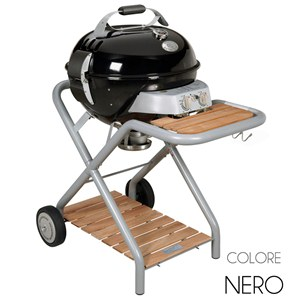 Ascona Black Barbecue a Gas GPL