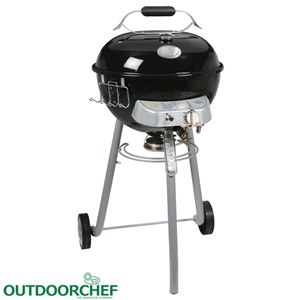 Porto Barbecue Sferico a Gas GPL OutdoorChef . griglia diametro 45 cm