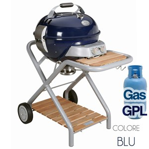 Ascona Blue Barbecue a Gas GPL
