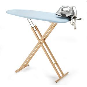 Asse da stiro pieghevole da tavolo in legno Peso 3.50 Kg ferro da stiro incluso
