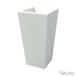 Portavaso EGIZIO liscio 46x35x105 cm per esternointerno in polietilene