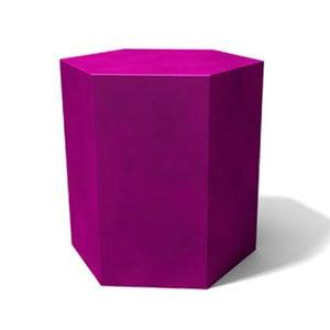 Tavolino esagonale Icetab Viola