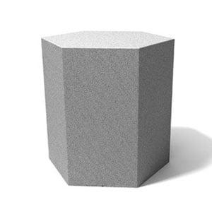 Tavolino esagonale Icetab Granito